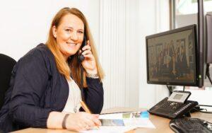 Sybille Mertens, Assistentin Geschäftsleitung